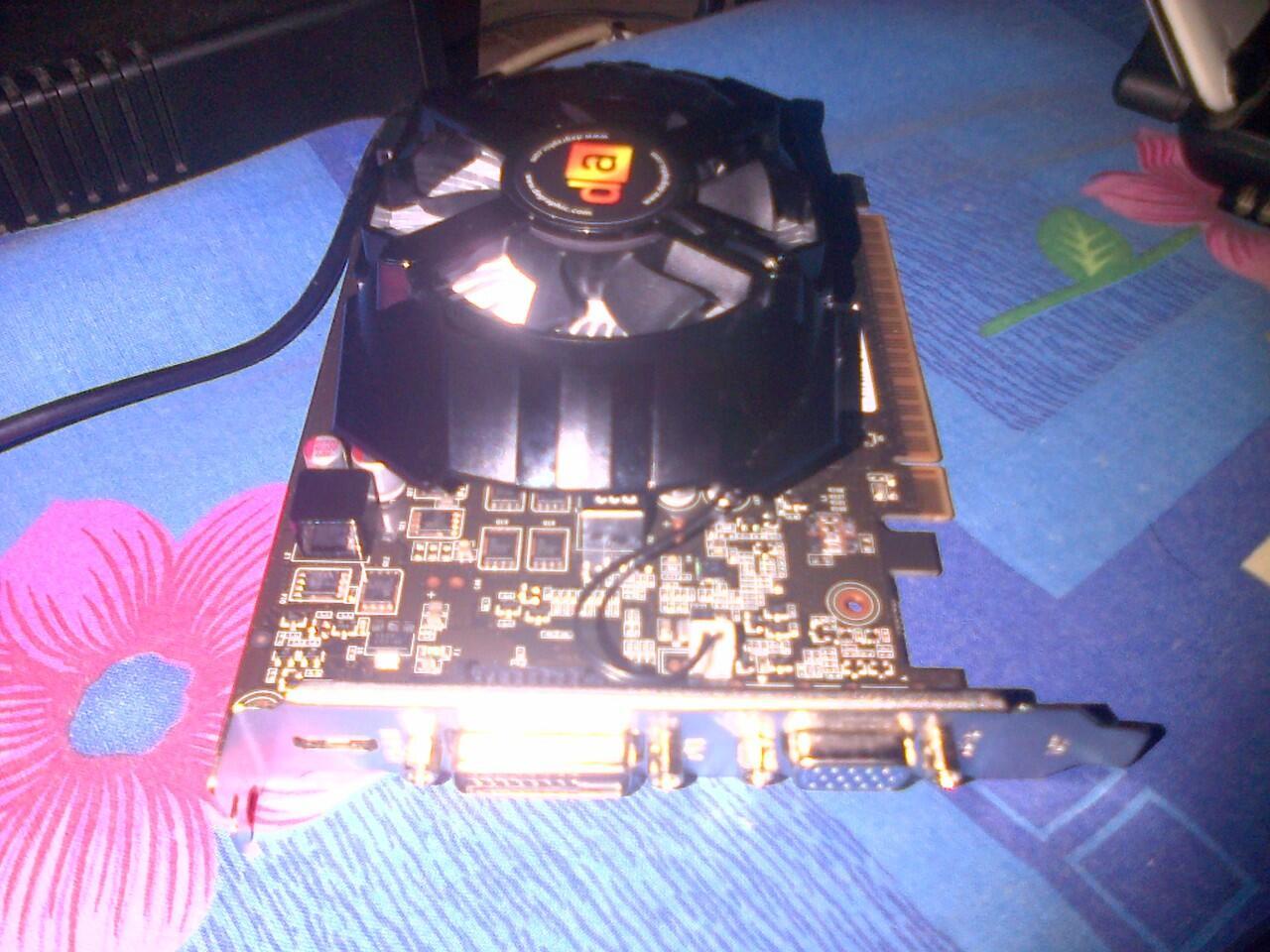 DIGITAL ALLIANCE GTX 650OC 1GB PCI-E3.0x16/128Bit/GDDR5
