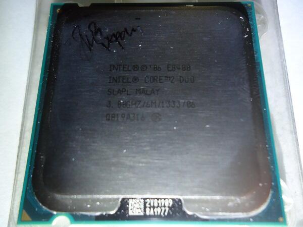 Proc Intel Core2Duo, DualCore, Xeon bonus fan 4 pipe !!
