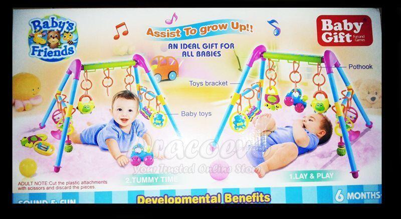 Terjual Baby Play Gym Mainan Bayi Multifungsi
