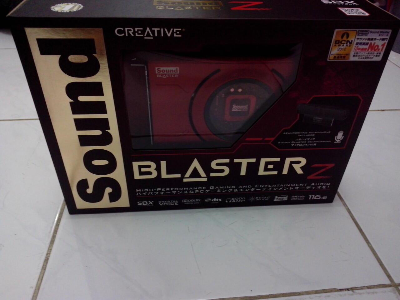 Jual Sound Blaster Z MuMer (abisin stock gudang)