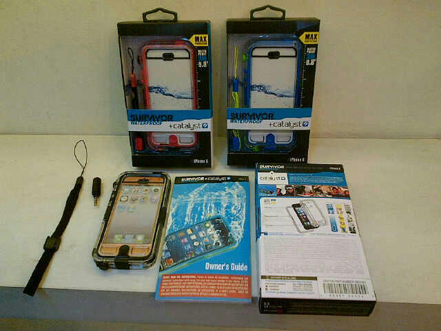 Jual Casing iphone 5/5s Tahan Air |CATALYST WATERPROOF CASE+GRIFFIN SURVIVOR