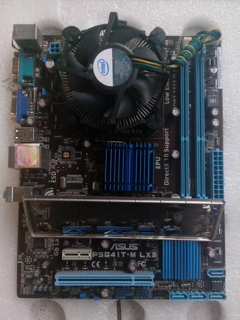 MB G41 ASUS + PROCE 2180 + FAN