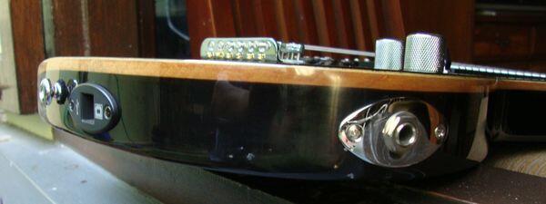 Guitar Electric Double Out: USB+Audio. JamMate JM400.