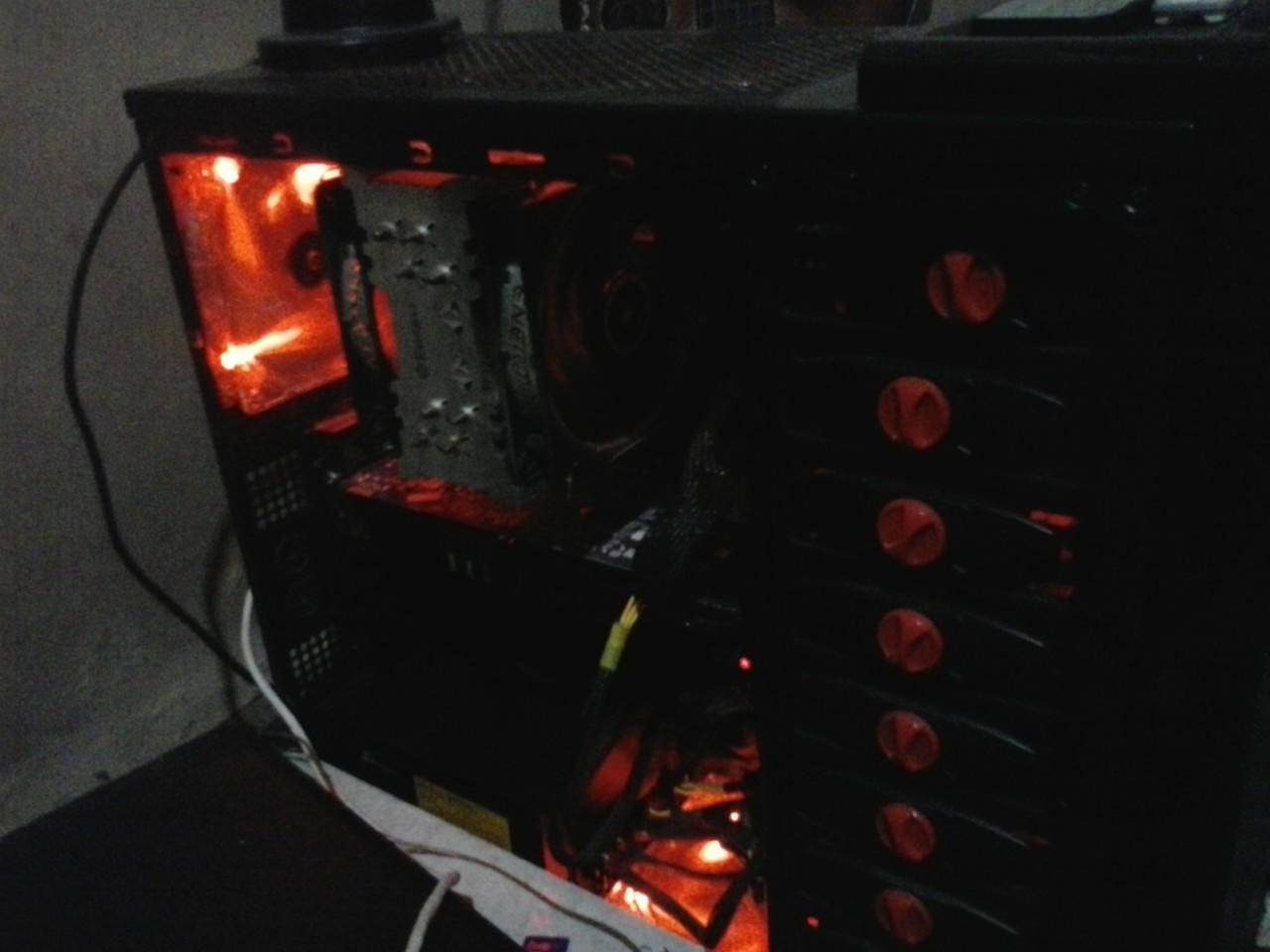 JUAL CASING PC GAMING VENOMRX KING COBRA FULL SET
