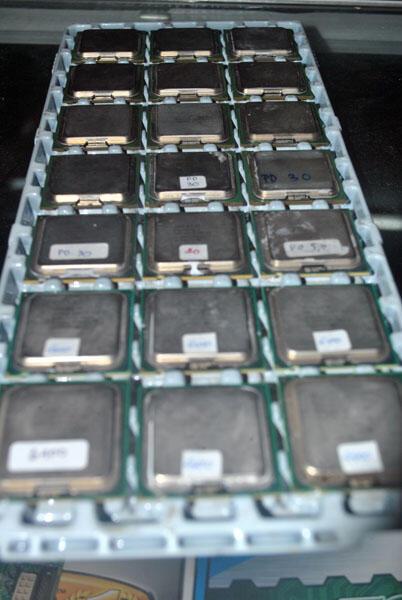 Procie Intel c2d E6400