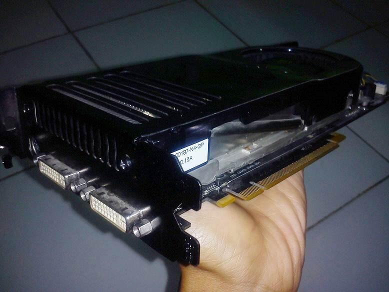 yang bekas, yang GTX 8800 768MB 384 Bit 256 GDDR3 Batang