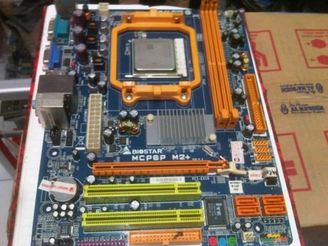 MB BIOSTAR MCP6P + ATHLON LE1640