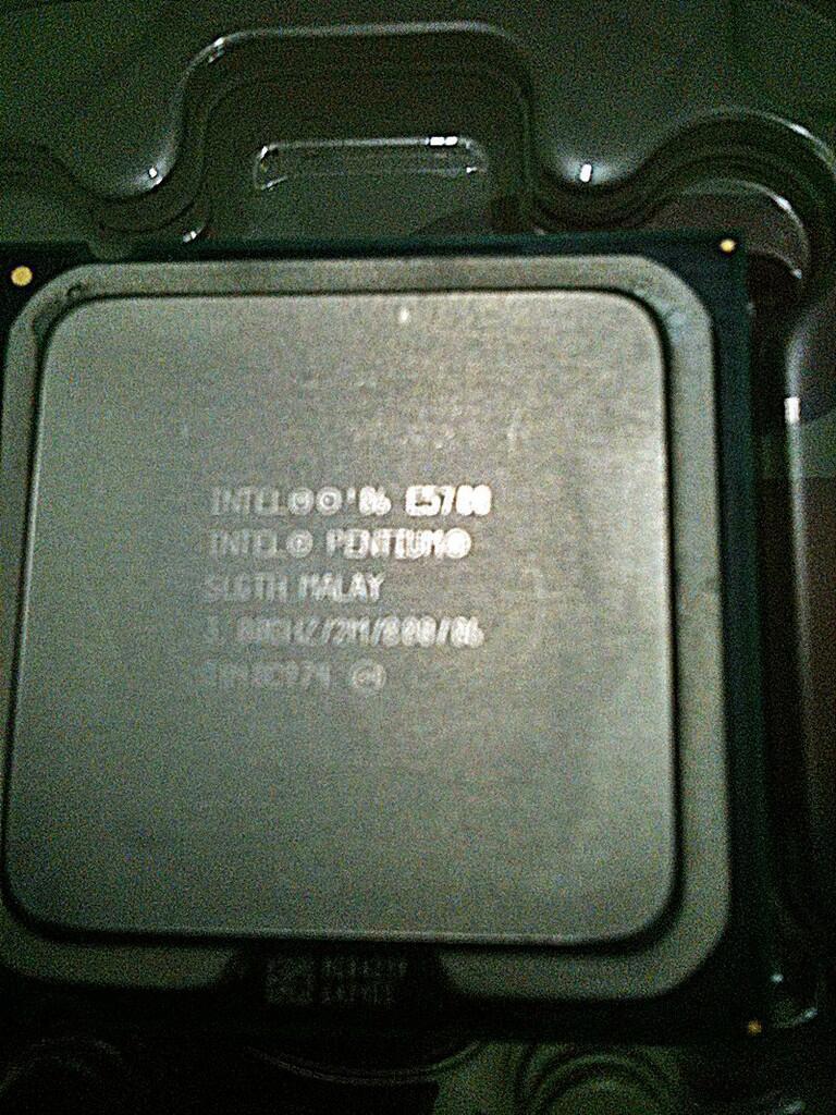 intel dual core e5700