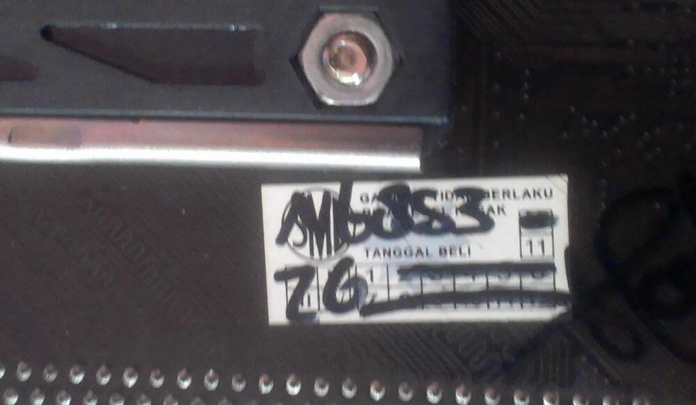 Biostar N68S3 AM3 Masih Garansi & Athlon X2 220 2,8 GHz [Jogja]