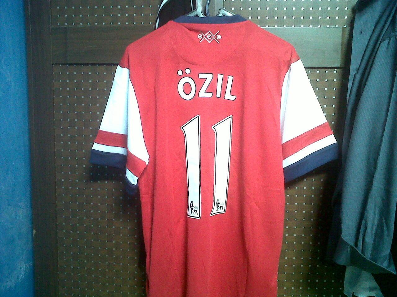 Jersey Arsenal home Ozil Murahh