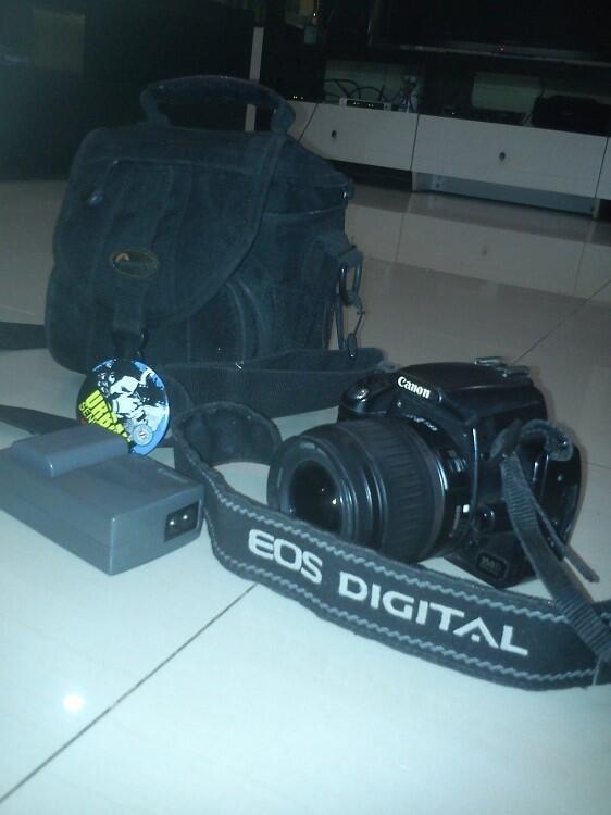 kamera canon 350 d muraaaah jakarta (bekas/second)