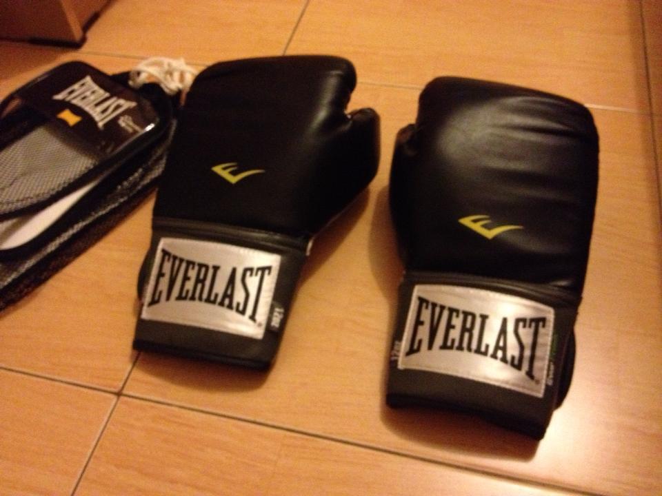 Sarung Tinju Everlast, Muaythai Glove, Boxing Glove, MMA Glove, Handwrap Everlast NEW