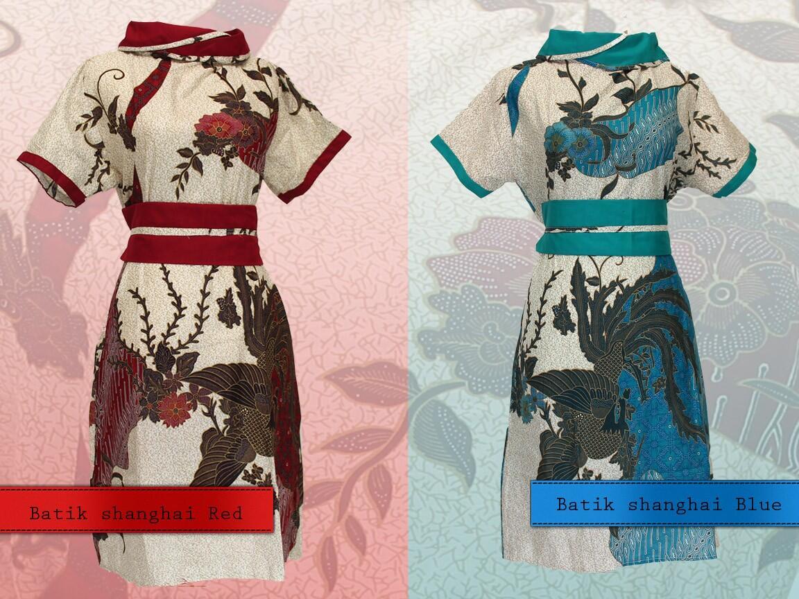 7773 Blazer batik