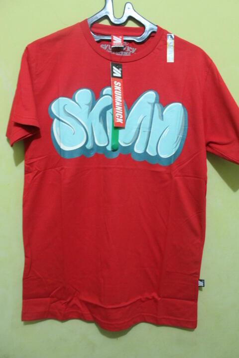 Kaos Distro Bandung Skumanick Original Free Gelang Trendy Free Ongkir