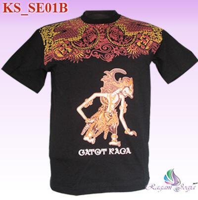 Kaos Batik Motif Jogja