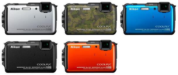 NIKON Coolpix AW110 (Underwater,GPS) CUMA RP.3.420.000