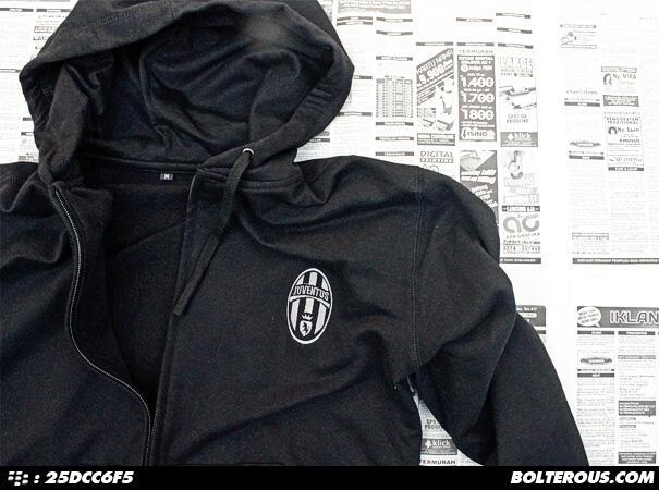 [Reay Stock] Jaket Bola Juventus - Hoodie Juventus