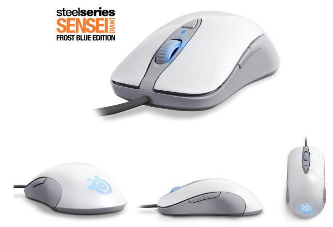 [MVPcomp] Steelseries Kana V2 mouse (WHITE / BLACK), Steelseries Sensei [Raw] Frost