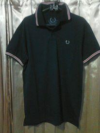 baju fred perry dan guess model polo shirt