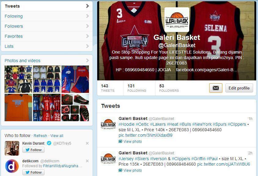 Jersey Lakers #24 Bryant | Galeri Basket Yogyakarta