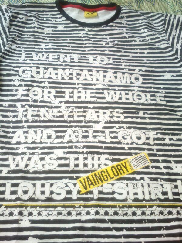 WTS (Ready Stock) VAINGLORY T-Shirt brand asli BANDUNG KEREN GAN!
