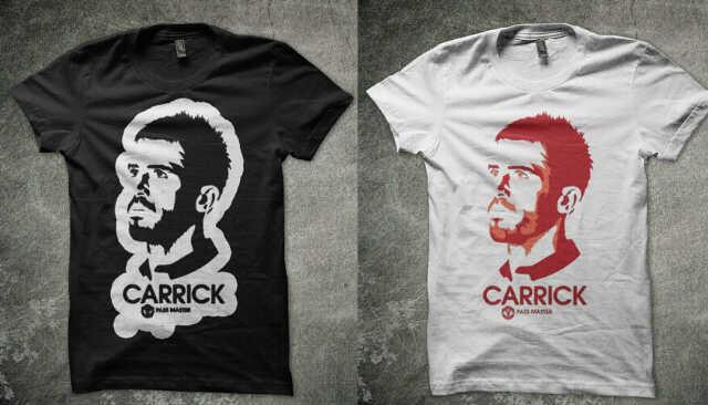 Pre Order Tees Michael Carick - United Fans monggo masuk