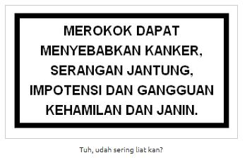 Dear perokok..