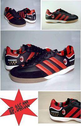 P.O T shirt Milanisti & Sepatu Milan