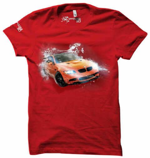 T-Shirt 3D Genethics BMW