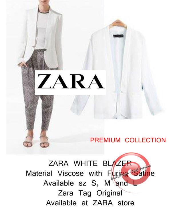 ZARA WOMEN SHIRT ori with Tag (PO till 16 oct - Ready 17 Oct)