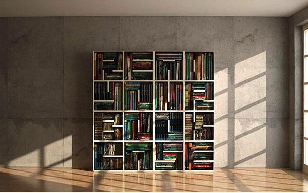 [HOT] 32 Rak Buku super keren gan yang harus dimiliki sama Book Lovers!
