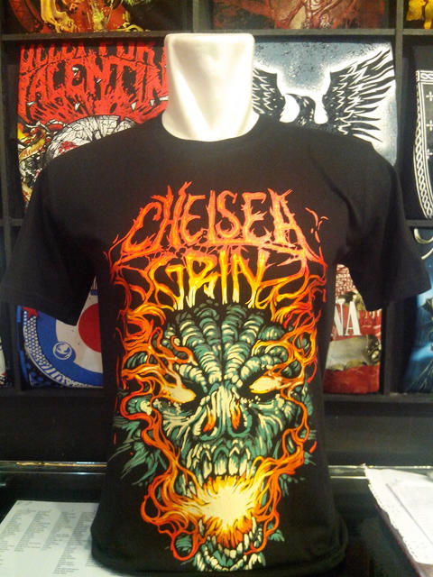 T-shirt Band - CHELSEA GRIN - Import Thailand