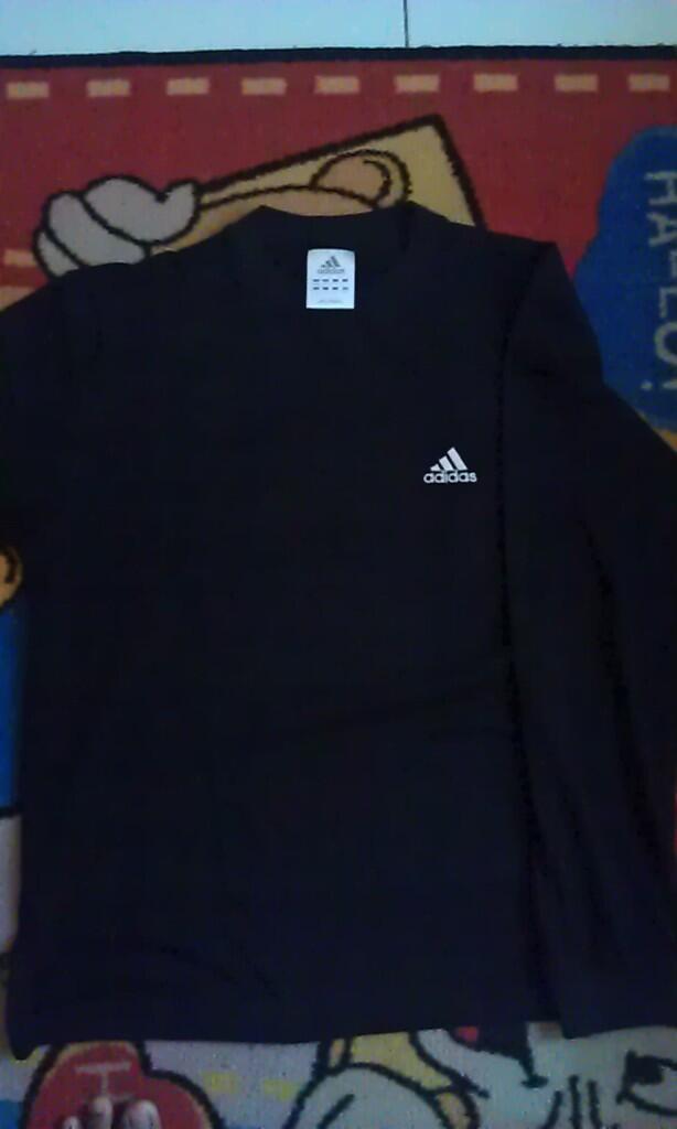 >>Second Stuff Gallery - Longsleeve Adidas Climalite dan BLACK ID Tees<<