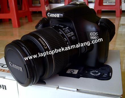 Terjual Jual Kamera Dslr Bekas Canon Eos 1100d Fullset Masih Garansi