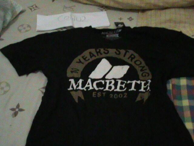 [ WTS ] Tees kaos tshirt Macbeth size M ( Jogja )