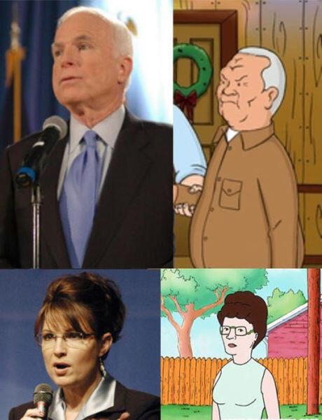 Orang-orang yang Mirip Tokoh Kartun
