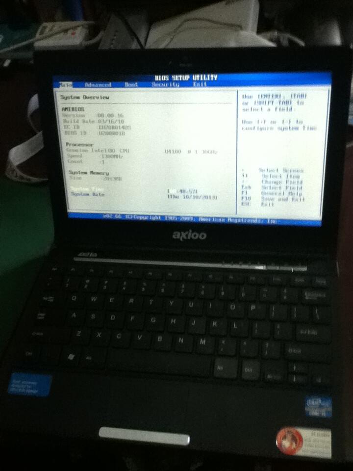 Notebook Ultrathin Axioo Zetta MKU (Tipis, Elegan & Langka)