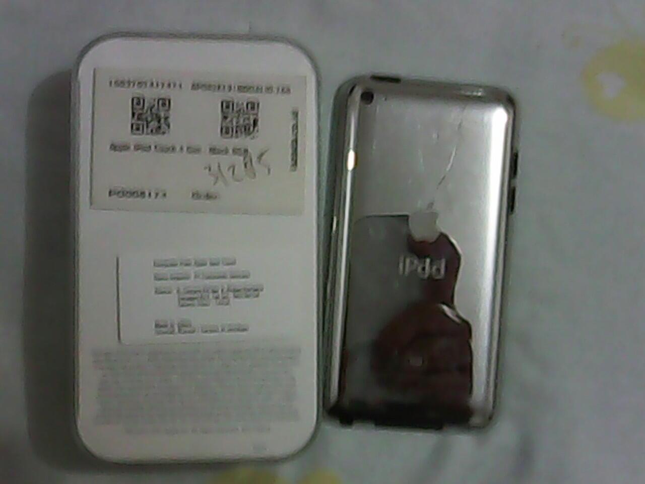 Apple IPOD TOUCH 4 8GB Black