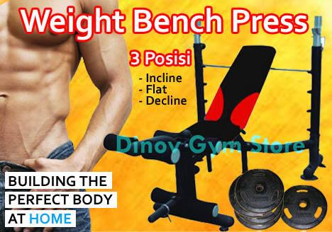 Bench Press 3 Posisi Bayar di tempat