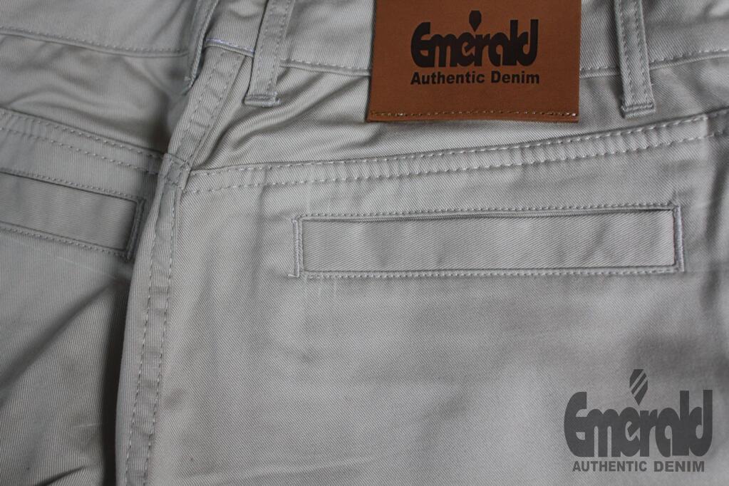 custom dpremium denim by EMERALD // bikin celana chino - jaket dan celana denim
