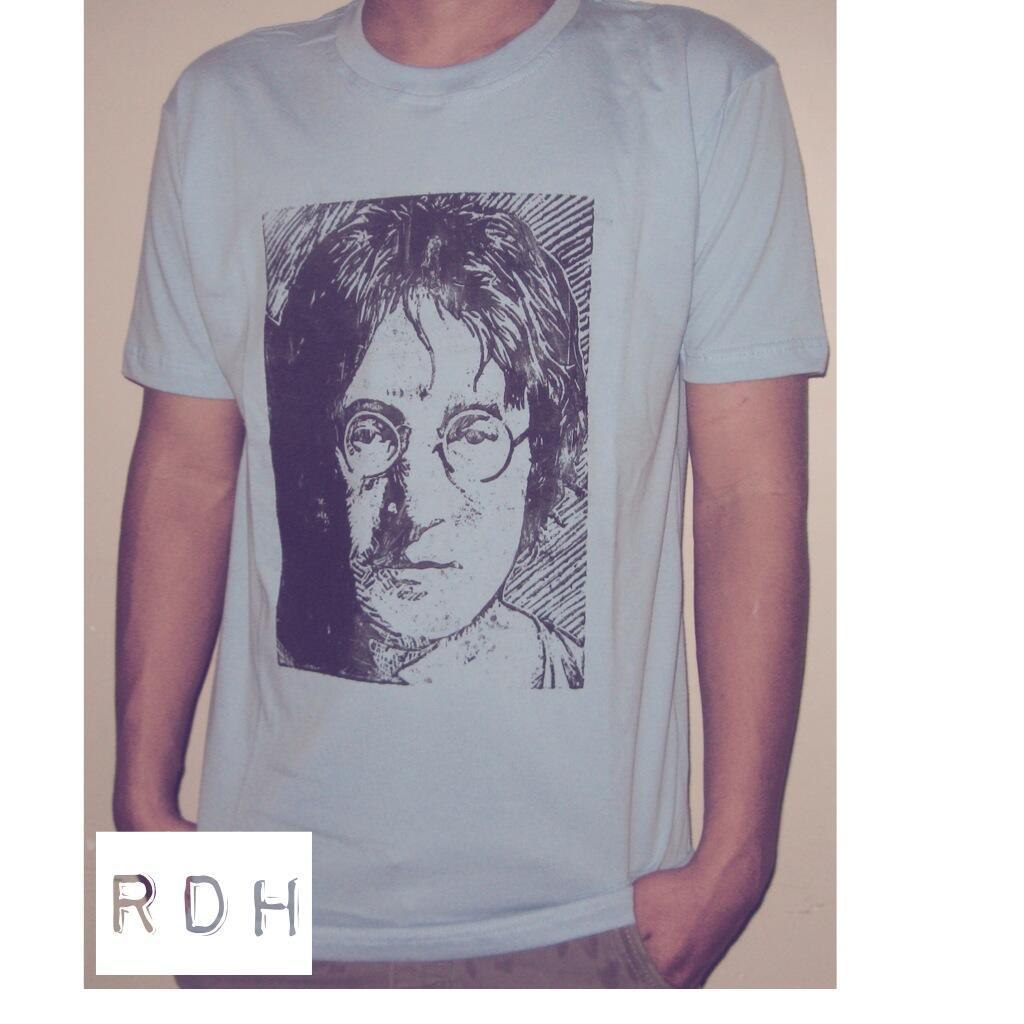 Kaos Cukil, Woodcut John Lennon