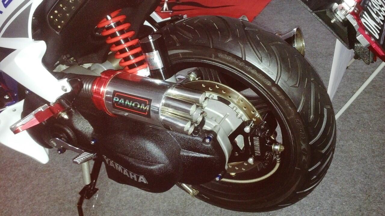 contoh Velg Lebar Buat Yamaha Xeon