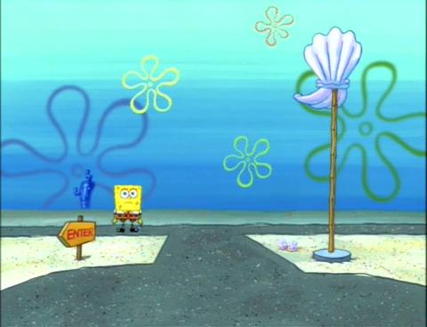 Kesalahan Pada Film Spongebob Squarepants