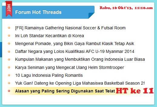 ~๑๑.Alasan2 Jam Karet Paling Populer di Indonesia.๑๑~