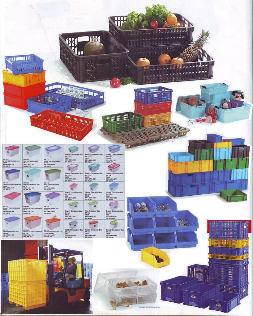 Terjual Box Plastic Keranjang Plastik Container Kotak