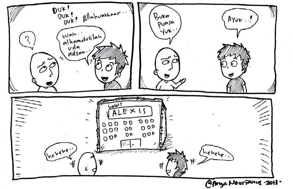 Komik Komik Sederhana Yang Bikin Ngakak Kaskus