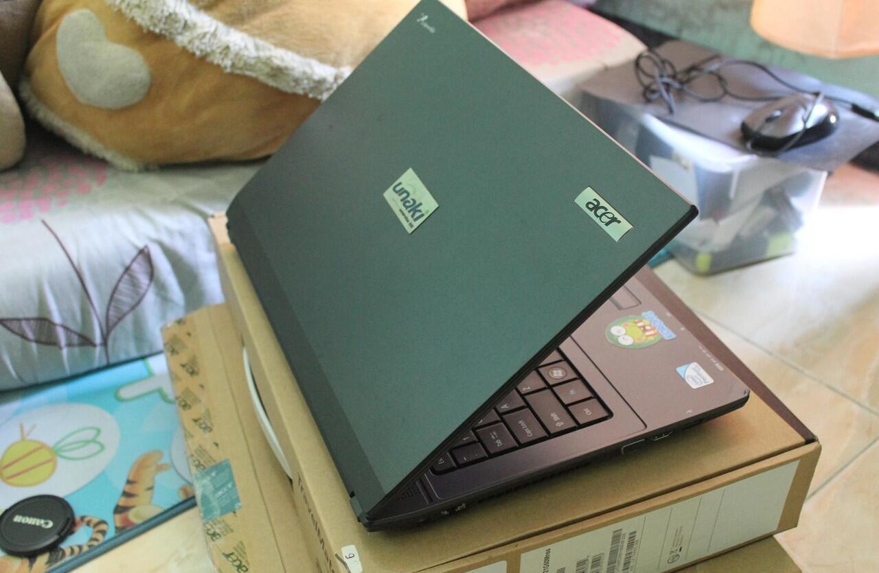 Jual notebook Acer TravelMate 4740Z Intel Proc.6200,1GB,500GB,Intel HD monggo gan