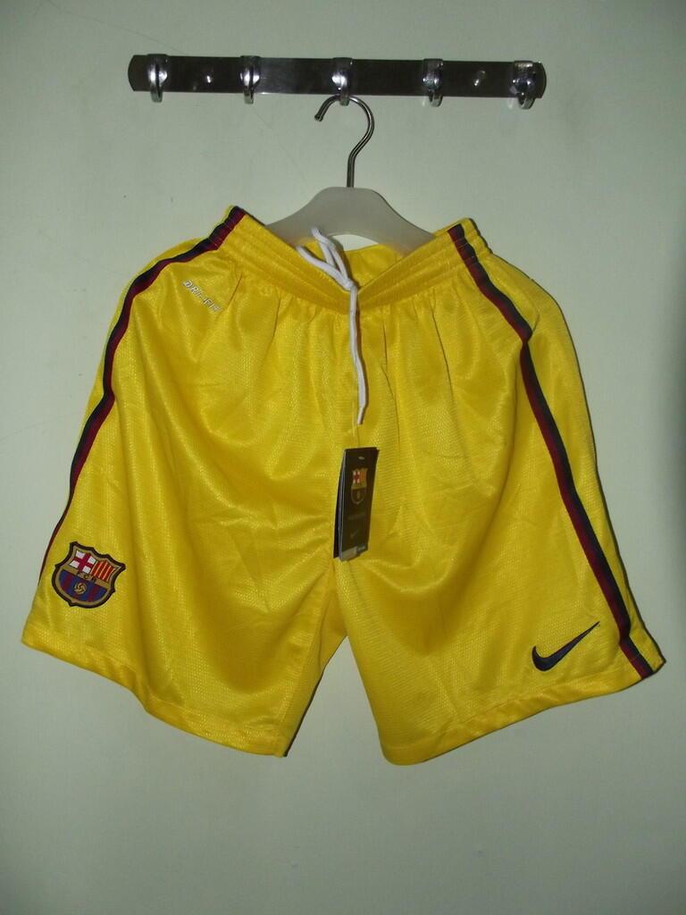 Lelang agak Kilat Celana Bola Grade Original Barcelona dan Valencia Rare OB Rendah!!