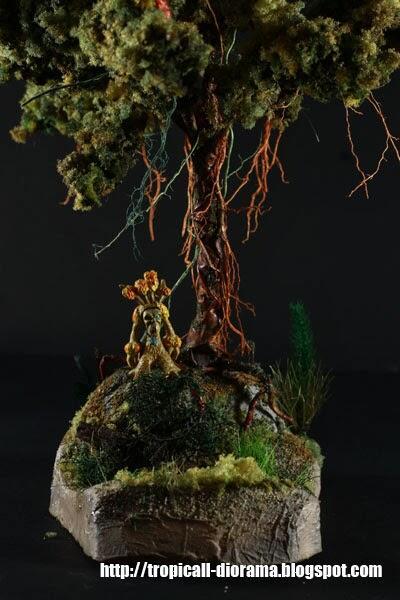 Tropicall Diorama | bahan - bahan diorama dan miniatur pohon (gundam, toys, hobbies)
