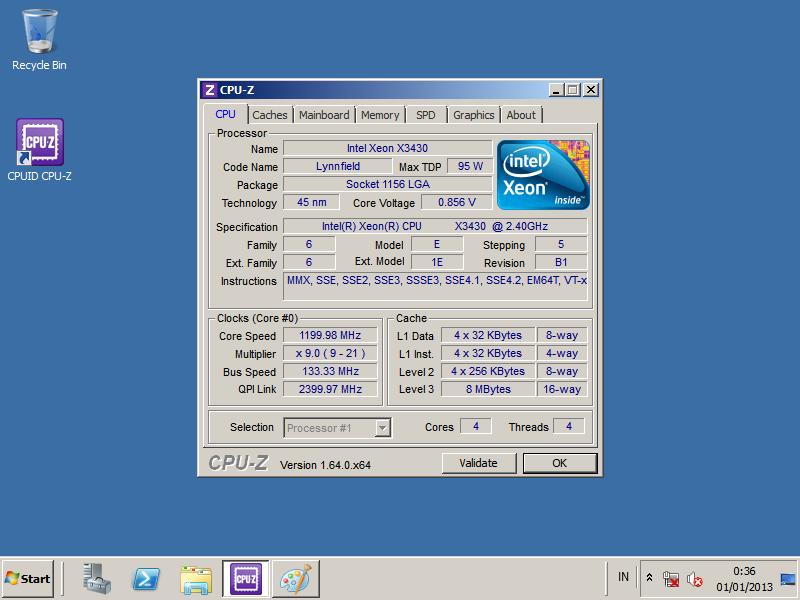 Board Server S3240GP + Procie Intel Xeon X3430 Hsf Ori Termurah
